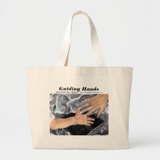 Guiding Hands - Customized Large Tote Bag