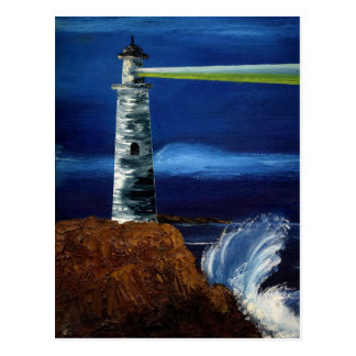 GUIDING LIGHT (lighthouse design 2) ~ Postcard