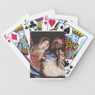 Guido_Reni_Birth Of Christ Bicycle Playing Cards