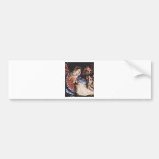 Guido_Reni_Birth Of Christ Bumper Sticker