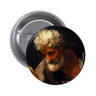 Guido Reni- Saint Matthew 6 Cm Round Badge