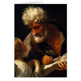 Guido Reni- Saint Matthew Greeting Card