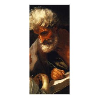 Guido Reni- Saint Matthew Customized Rack Card