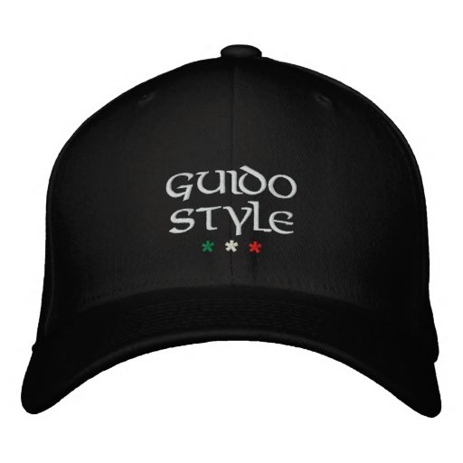 """Guido Style"" embroidered cap"
