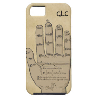 Guidonian Hand, Medieval Music Theory Customizable iPhone 5 Cover