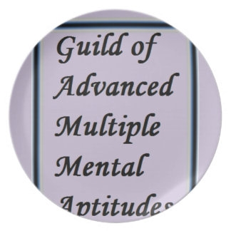Guild of Advanced Multiple Mental Aptitudes store Plate