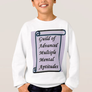 Guild of Advanced Multiple Mental Aptitudes store Sweatshirt