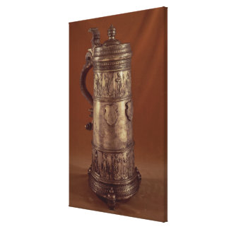 Guild tankard, silvered pewter, 1564 stretched canvas prints