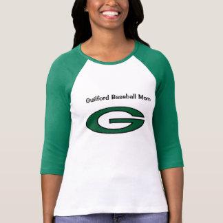 Guilford Baseball Mom T-Shirt