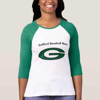 Guilford Baseball Mom Tee Shirt