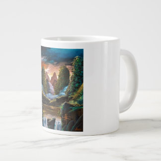 Guilin dusk large coffee mug