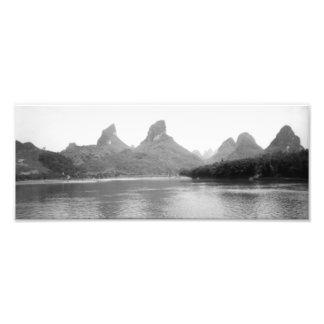 Guilin Landscape Photo Print