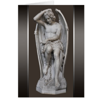 Guillaume Geefs Lucifer sculpture CC0930 Small Card