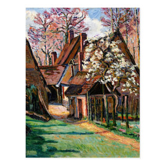Guillaumin - Cabins at Jouy Postcard