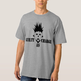 GUILTY AS CHARGE Men's Tall Hanes T-Shirt