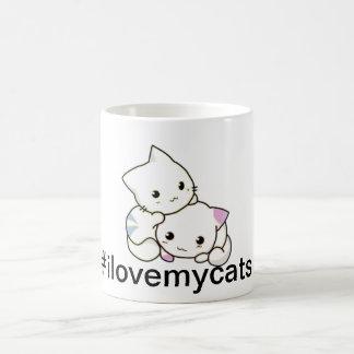 Guilty Cats ™ - I Love My Cats Mug