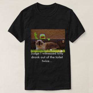 Guilty Kitty T-Shirt