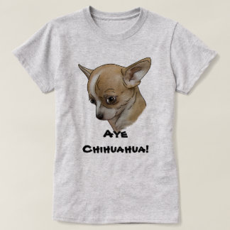 Guilty Look Chihuahua Puppy T-Shirt