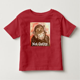 Guilty Monkey Toddler T-Shirt