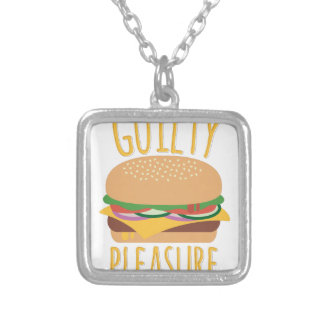 Guilty Pleasure Silver Plated Necklace