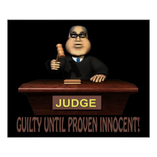 Guilty Until Proven Innocent Posters