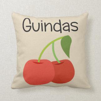 Guindas (Cherries) Cushion