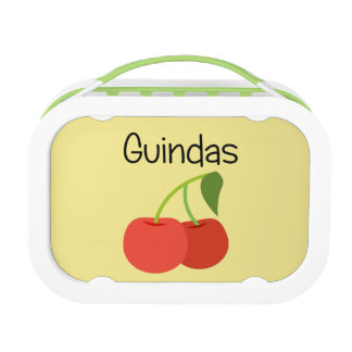 Guindas (Cherries) Lunch Box
