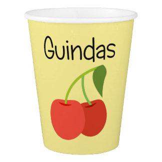Guindas (Cherries) Paper Cup