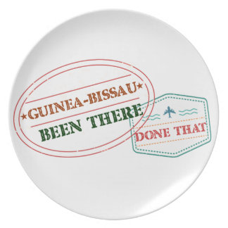 Guinea-Bissau Been There Done That Plate