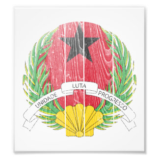 Guinea Bissau Coat Of Arms Photo Art