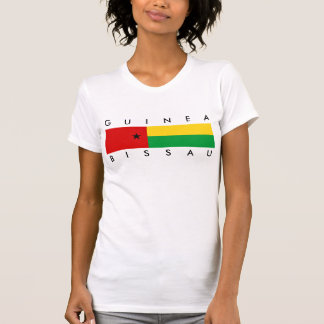 Guinea-Bissau country flag nation symbol long guin T-Shirt