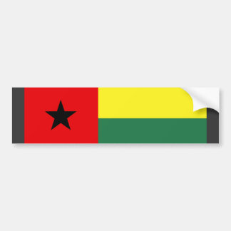 Guinea Bissau Flag Bumper Sticker