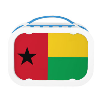 Guinea-Bissau Flag Lunch Box