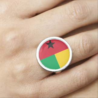 Guinea-Bissau Flag Ring