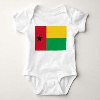 Guinea-Bissau National World Flag Baby Bodysuit