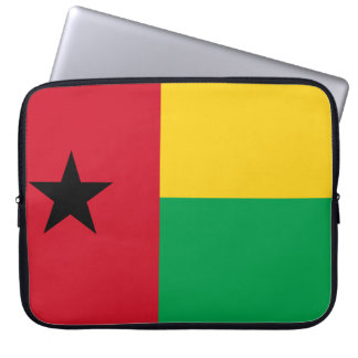 Guinea-Bissau National World Flag Laptop Sleeve