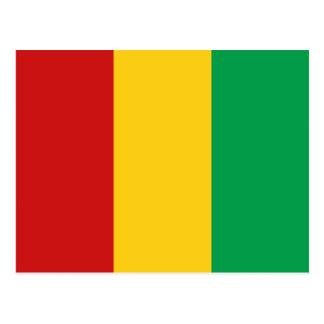 Guinea-Conakry Flag Postcard