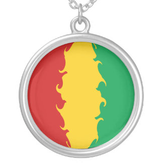 Guinea Conakry Gnarly Flag Jewelry