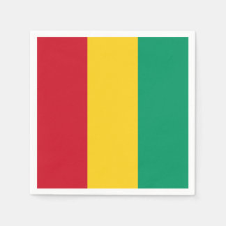 Guinea Flag Disposable Serviette