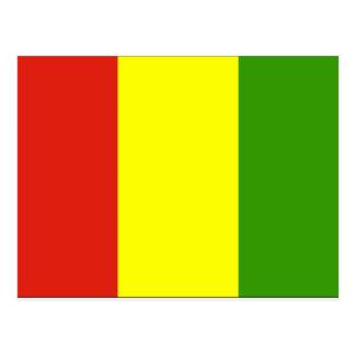 Guinea Flag Postcard