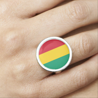 Guinea Flag Ring