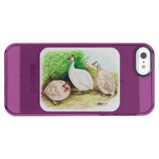 Guinea Fowl Outside Clear iPhone SE/5/5s Case