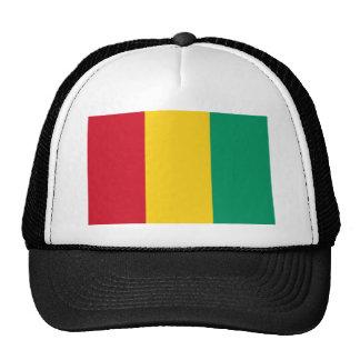 Guinea National World Flag Cap