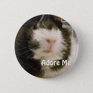 Guinea Pig 6 Cm Round Badge