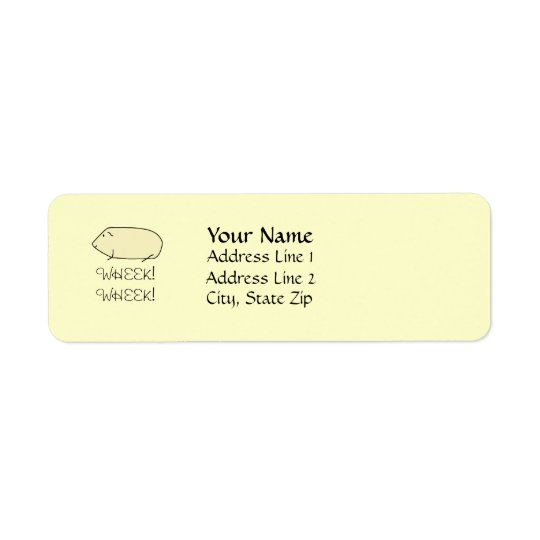 Guinea Pig Address Labels