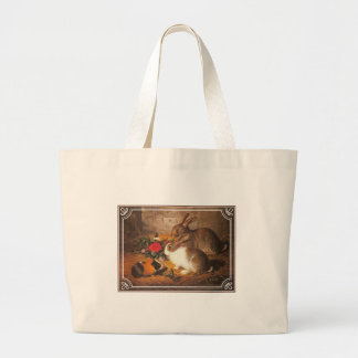 Guinea Pig and Rabbits Tote Bag