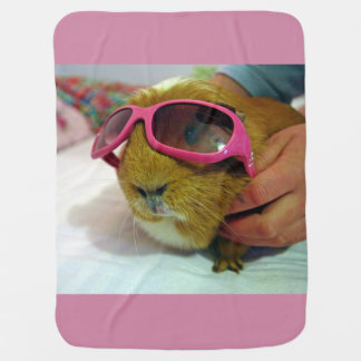 guinea pig baby blanket