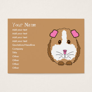 Guinea Pig Business Card