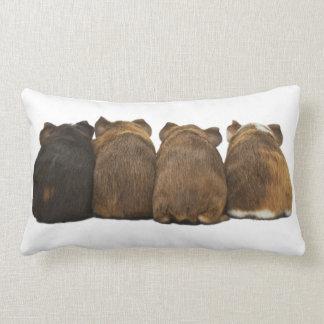 Guinea Pig Butts THROW PILLOW