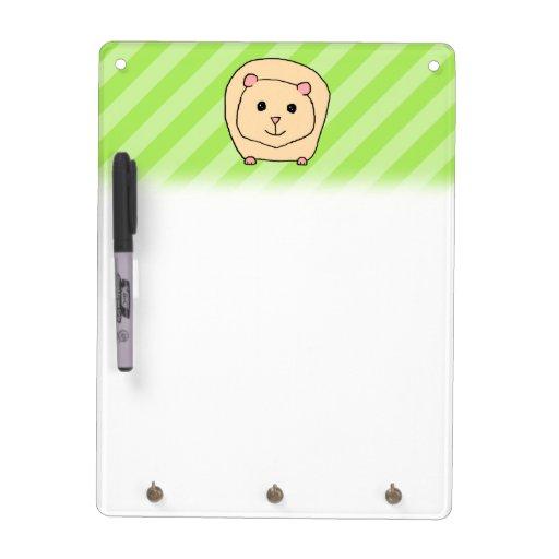 Guinea Pig, Cartoon Animal. Dry Erase Whiteboard